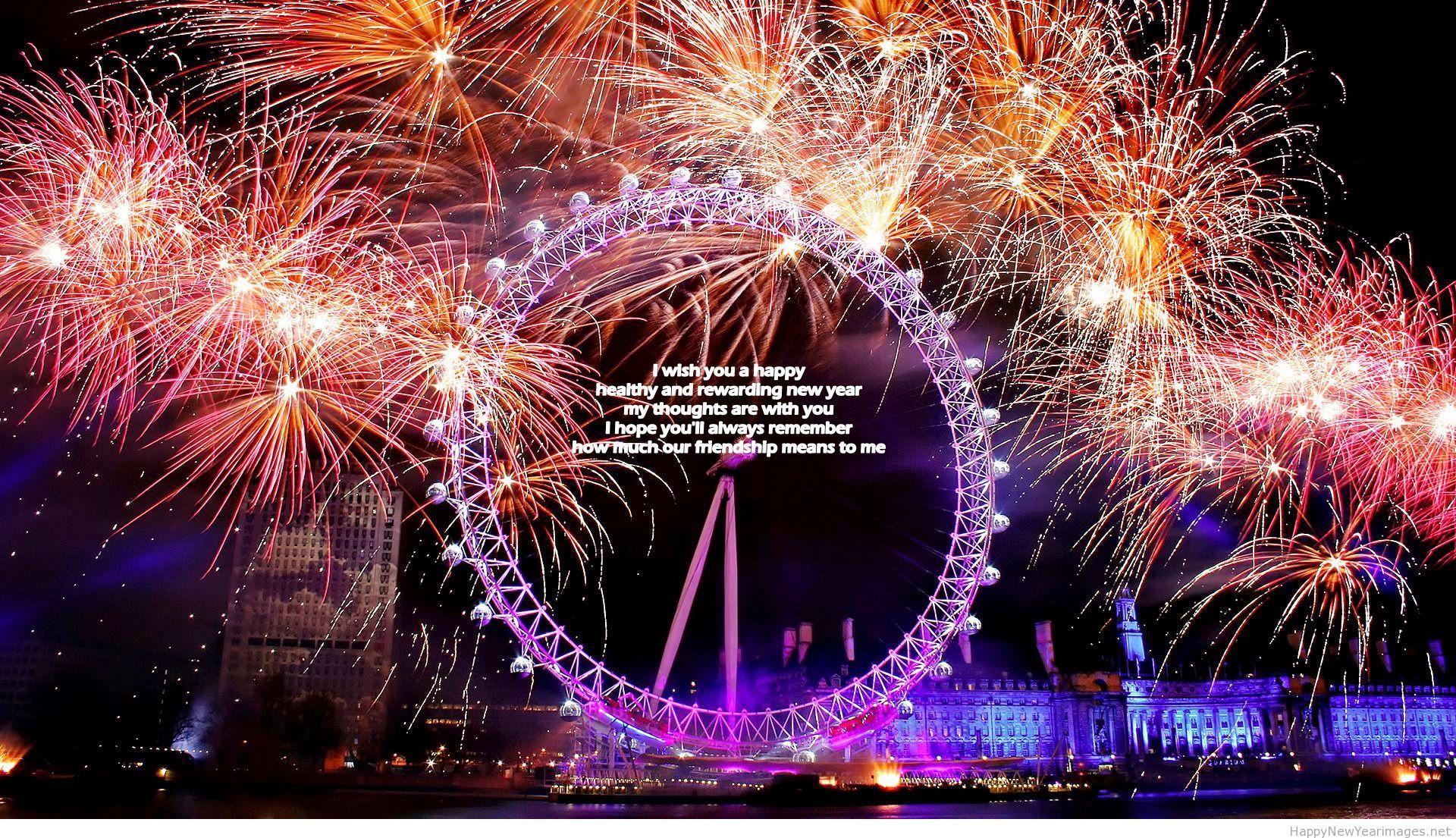 New year celebration happy new year hd fireworks Happy