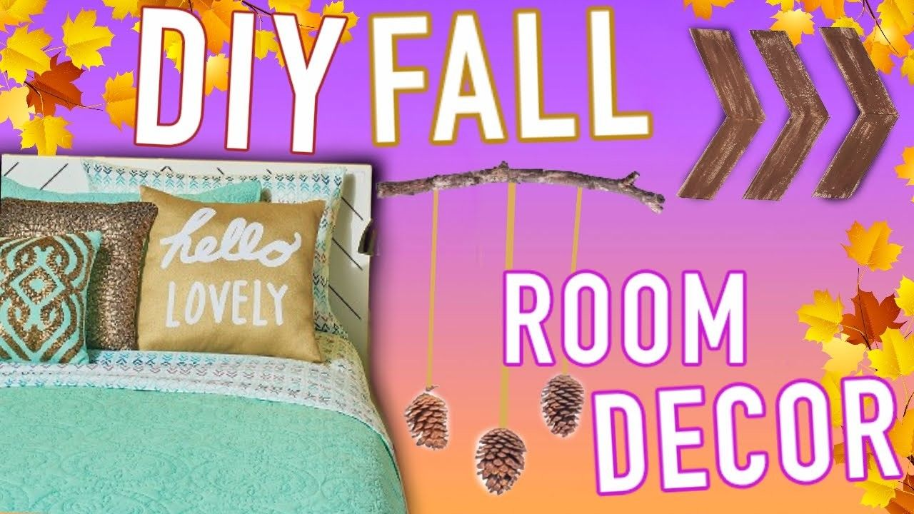 DIY Room Decor for Fall: Make your Room Cozy! images