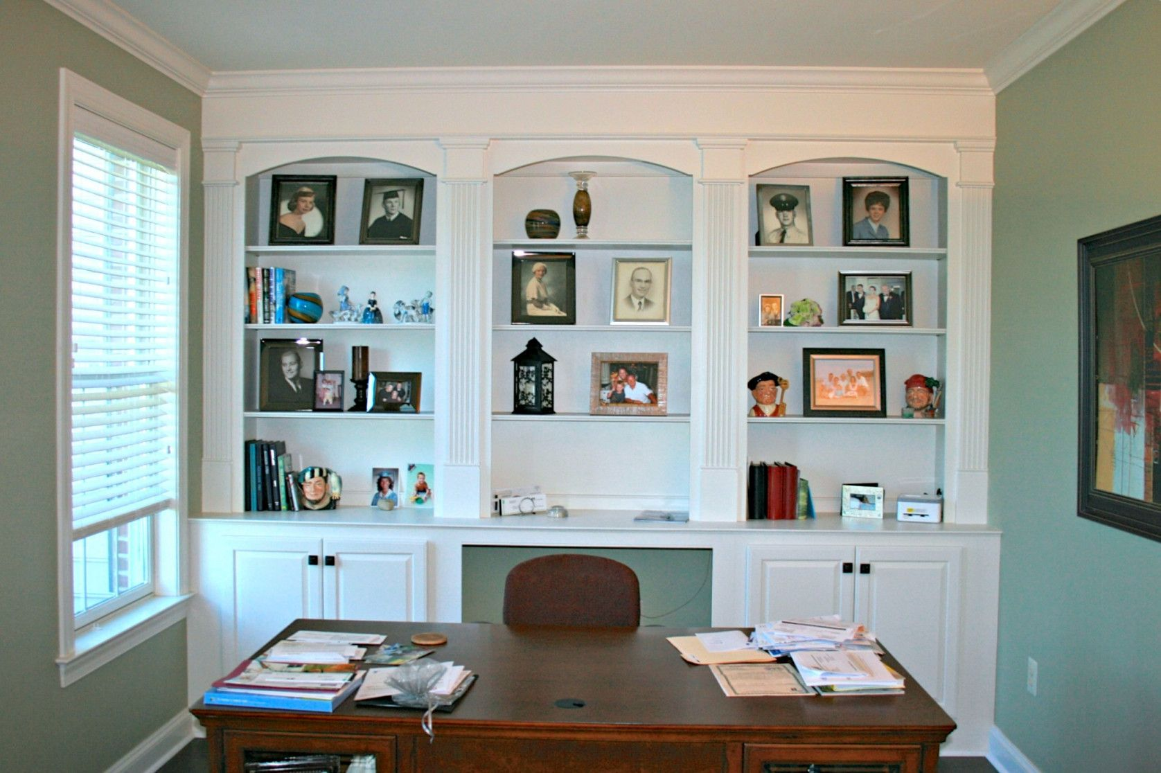 50+ Built In Office Cabinets - Kitchen Cabinets Update Ideas On A ...
