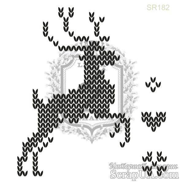 Акриловый штамп Lesia Zgharda SR182 Олень, набор из 4 штампов | Товары для скрапбукинга | ScrapUA.com