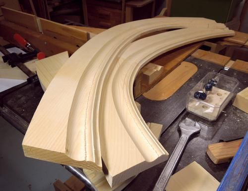 Making Curved Molding Workshop Carpentry Building Tips In 2019
