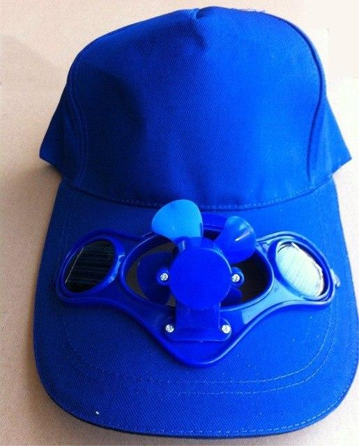 Mr Hunkle 2017 Novelty Sun Solar Power Hat Cap With Cooling Fan For Out Door Golf Mountain Climbing Baseball Hats Air Fan Cap Solar Energy