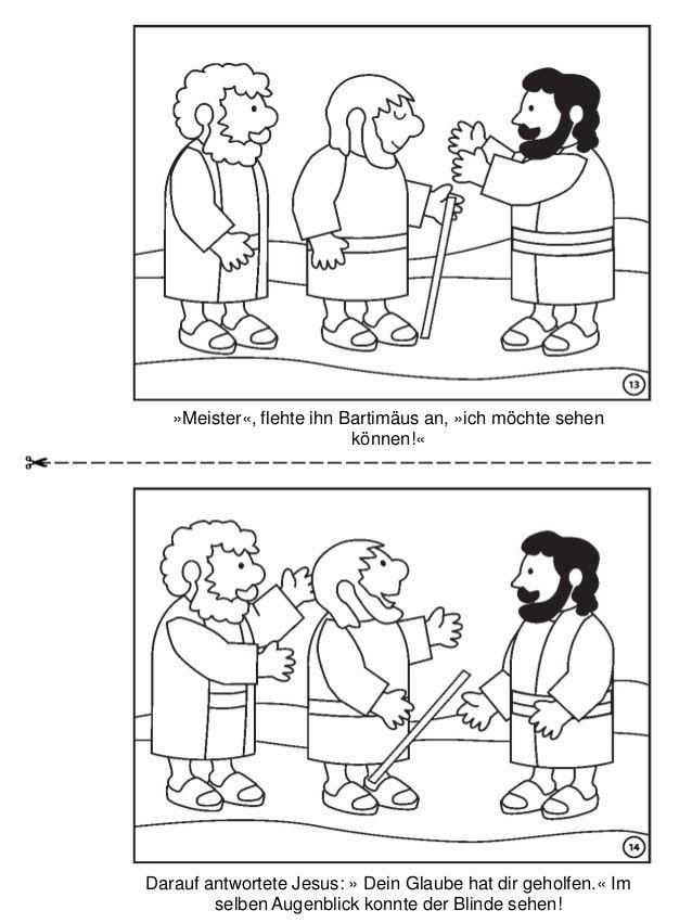 Die Heilung Des Blinden Bartimäus
