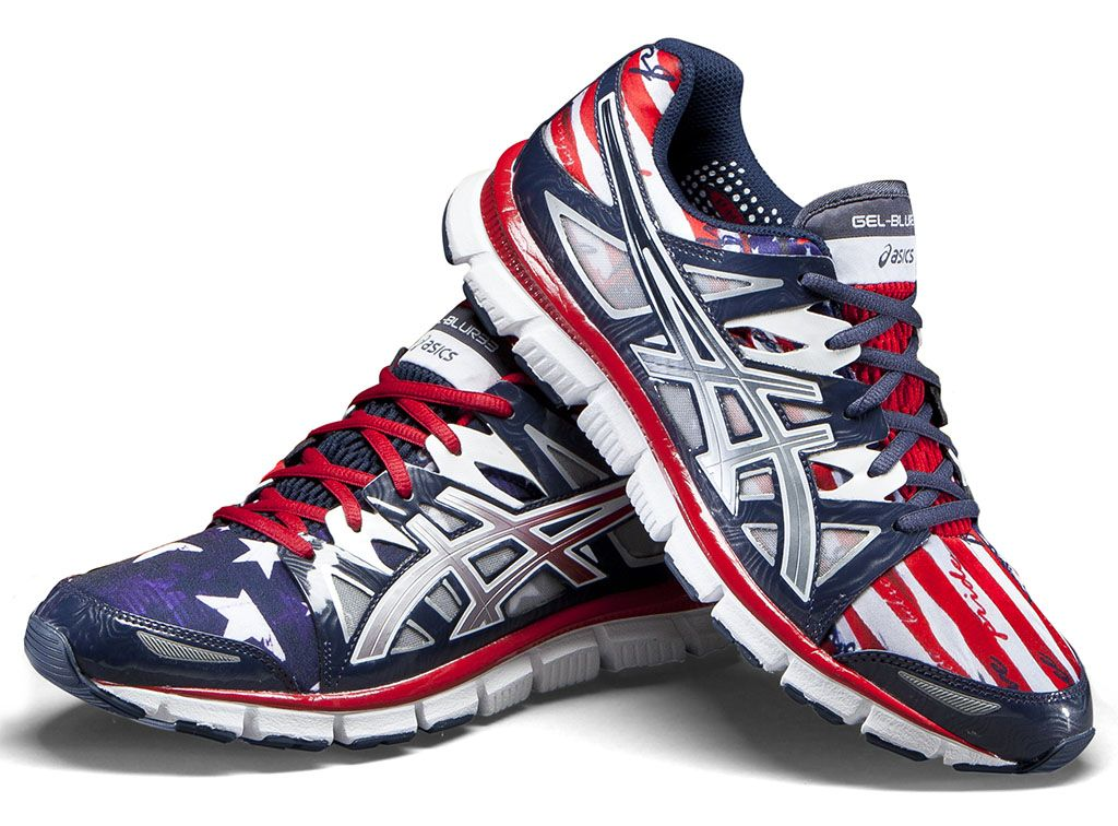 Asics Gel-Blur33 Team USA Themed Shoes