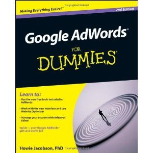 Google AdWords For Dummies (Paperback)  http://www.picter.org/?p=0470455772