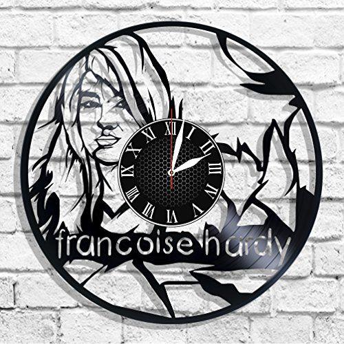 Françoise Hardy singer design wall clock, Françoise Hardy... https://www.amazon.com/dp/B078WHGTC9/ref=cm_sw_r_pi_dp_U_x_ZKKzAbGTZVPZ7