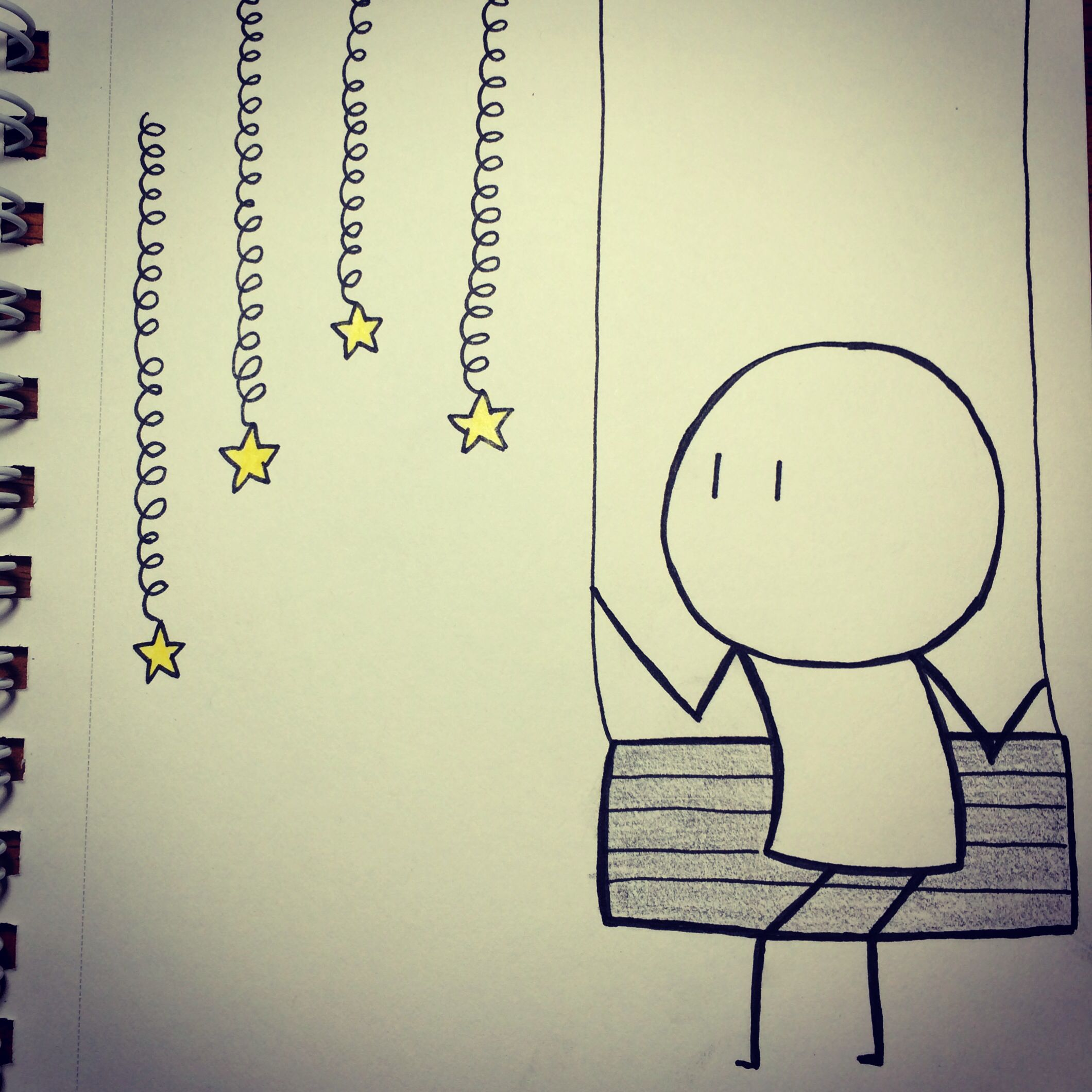 I wish upon a star.....#cutelovedrawing #cutedrawing # ...