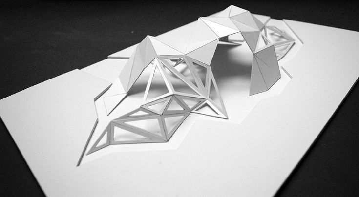32 Creative Photo of Origami Architecture Concept Origami Architecture Concept E… - Origami Blog 2019