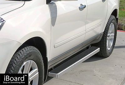 Premium 4 Iboard Running Boards Fit 07 17 Chevy Traverse Gmc Acadia Chevrolet Traverse New Suv Buick Enclave