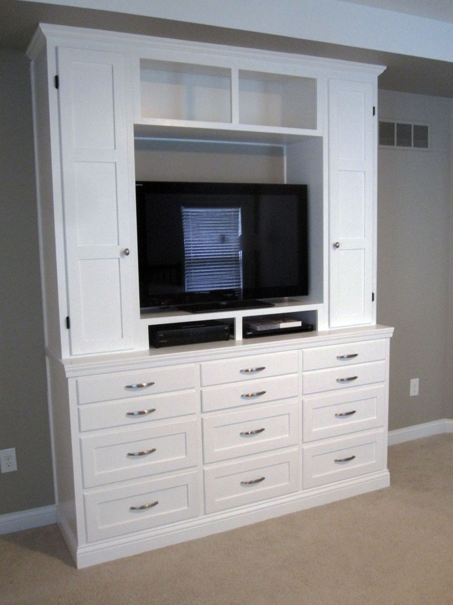 Incroyable Bedroom Dresser/Entertainment Center