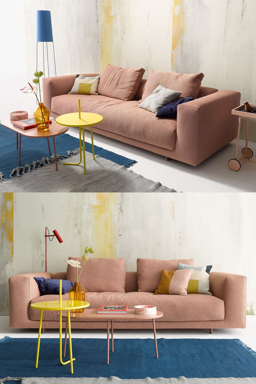 Fashionable and colorful combination makes indoor ...