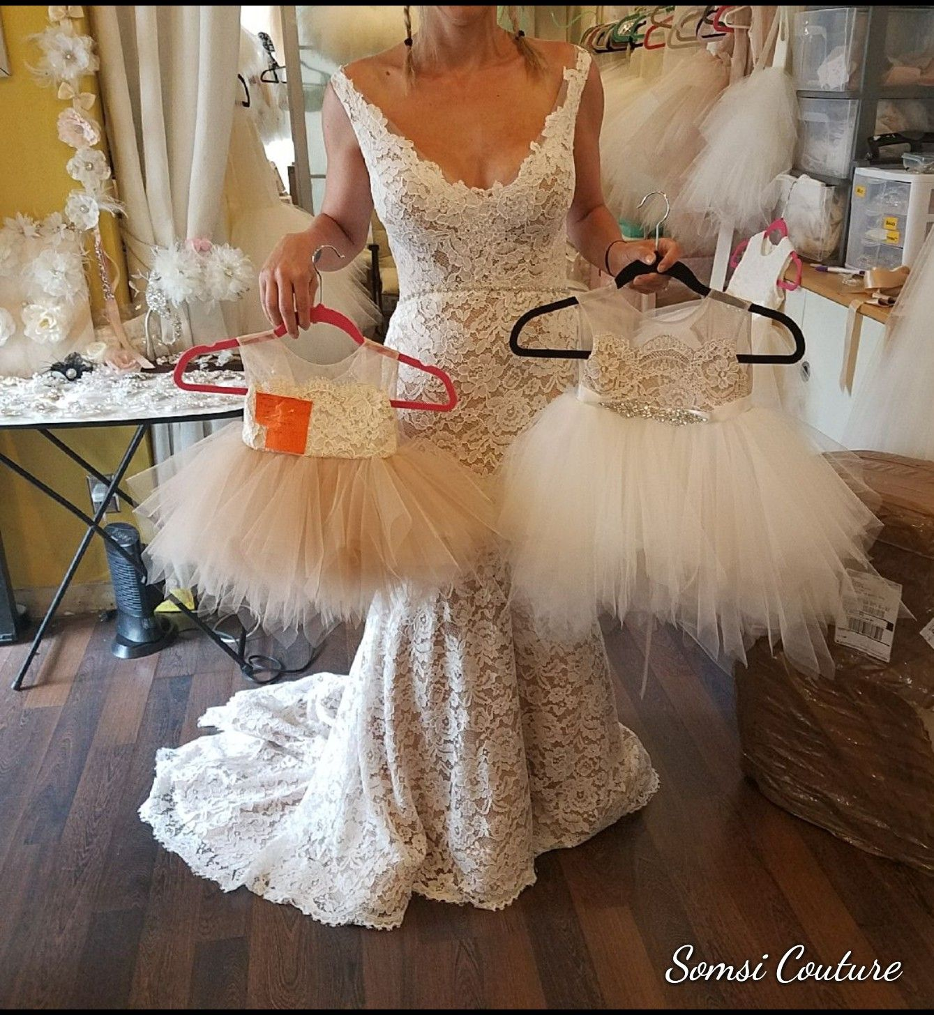 Our Stunning Calla Flower Girl Dress Somsicouture Somsi