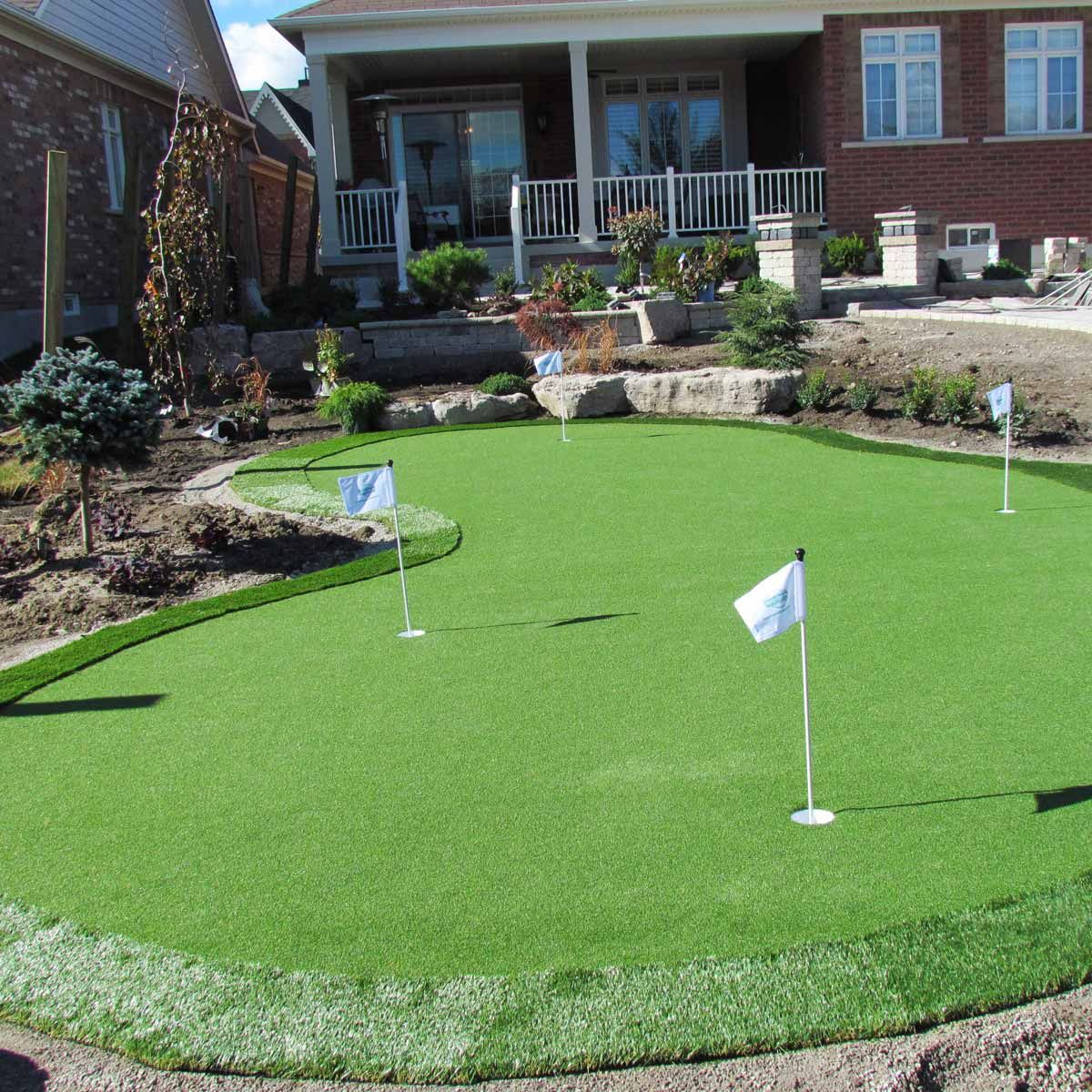11 Some Of The Coolest Concepts Of How To Upgrade How Much Does It Cost To Landscape A Backyard Green Backyard Backyard Putting Green Backyard