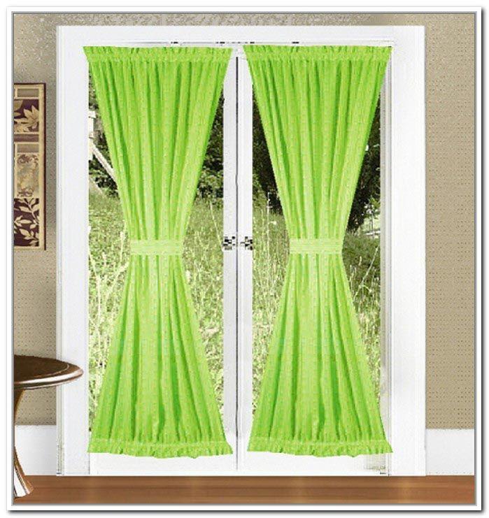 Sash Curtain Rod For Door Panels Curtain Rods Panel Doors Curtains