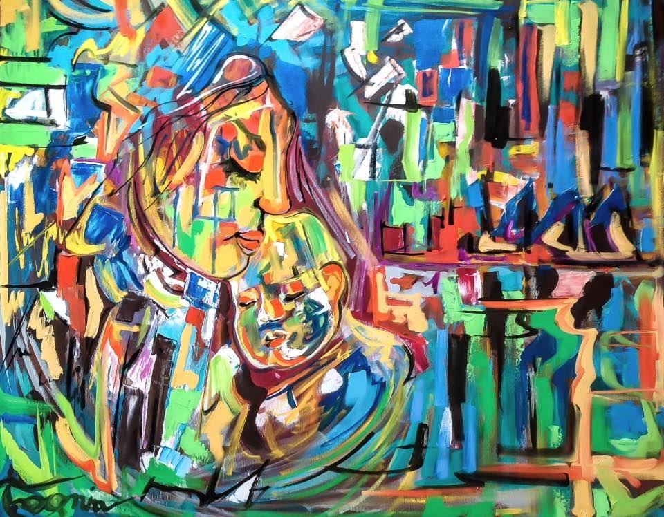 Ninna, Negozio on line dipinti e quadri moderni espressionisti ...