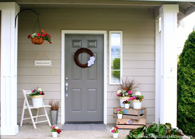 The Power Of Paint Front Porches Porch Makeover And Porch - Front porch makeover ideas