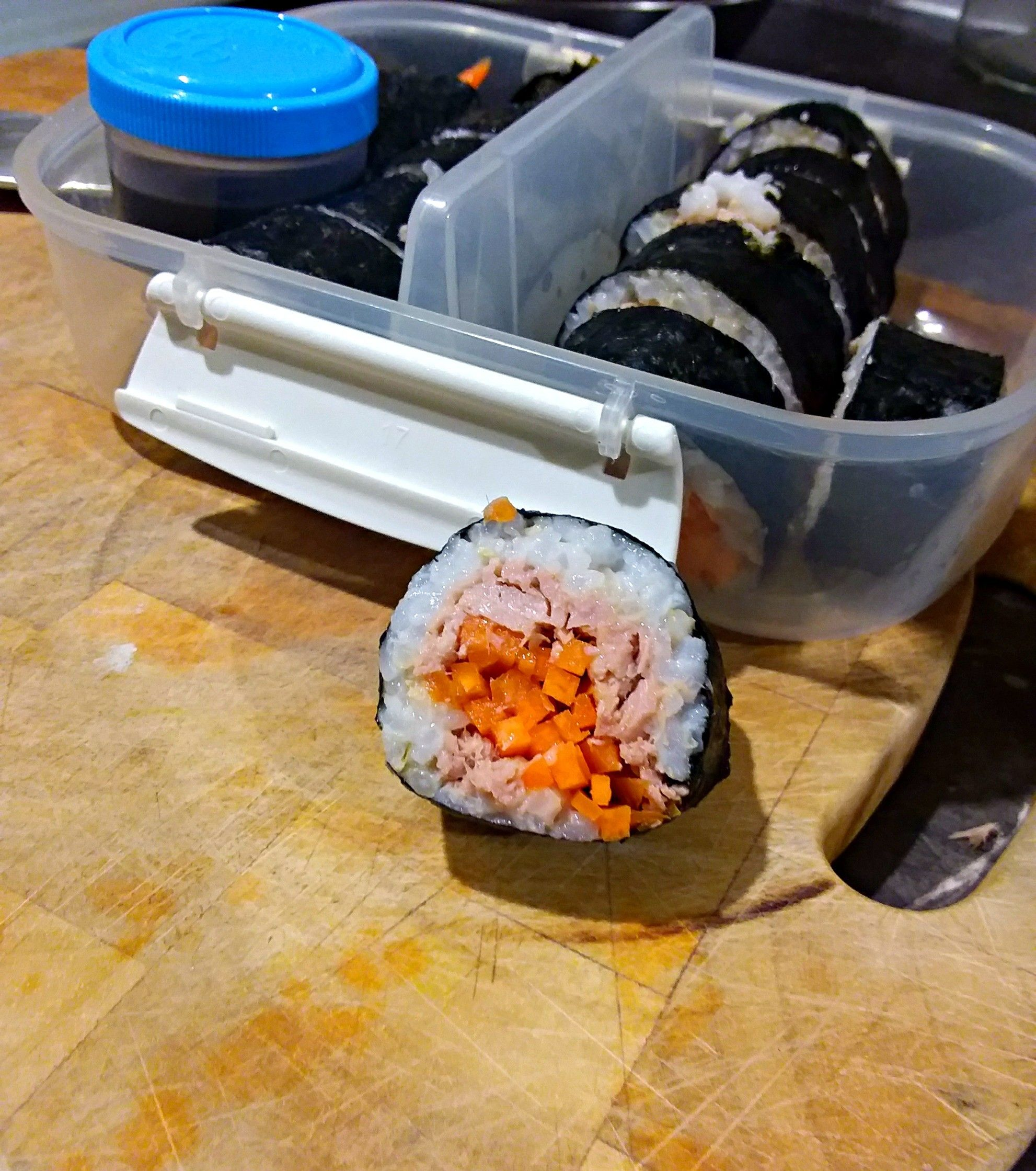whole foods sushi calories