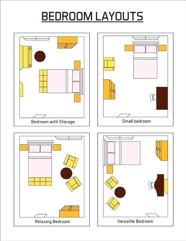 10x10 Room Design: Image Result For Bedroom Layouts For A 10x10 (With Images
