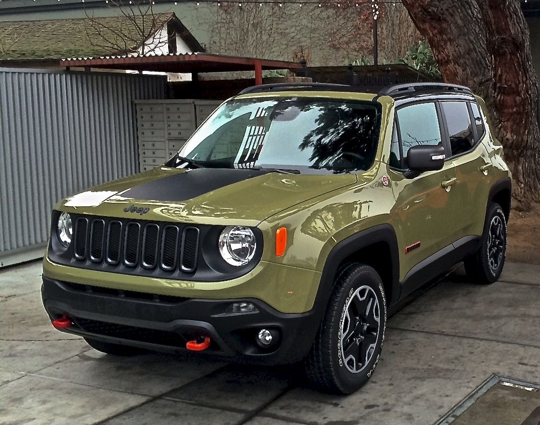 New Jeep Renegade New App For Your Jeep Jeep Warning Lights In