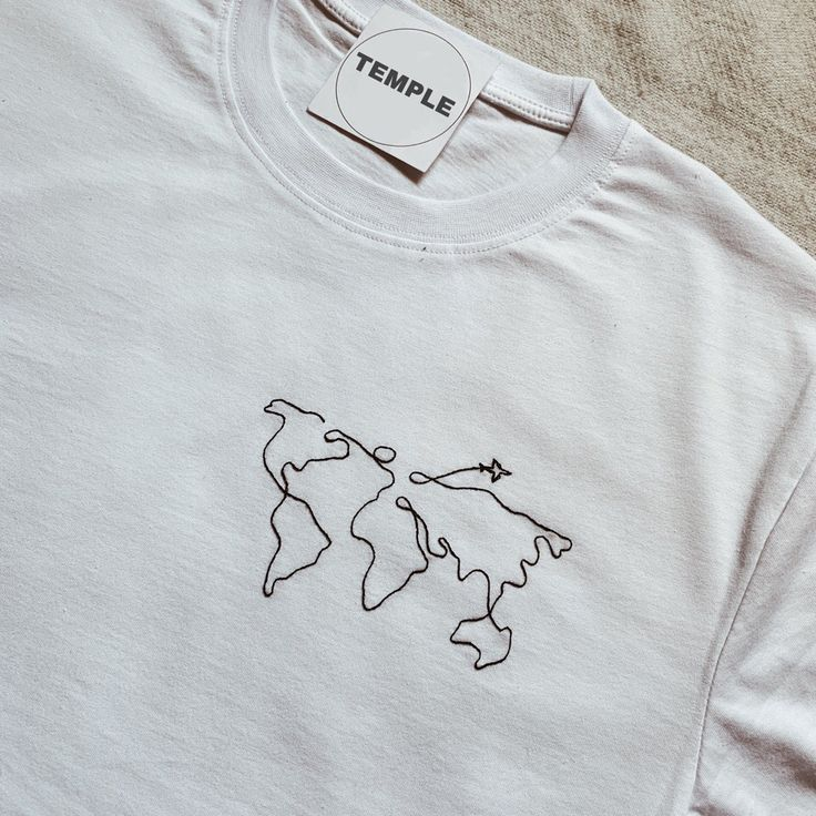 World Travel Embroidery Design # Embroidery Design # World Travel #teedesign World Travel Embroidery Design …   – Klamotten anmalen