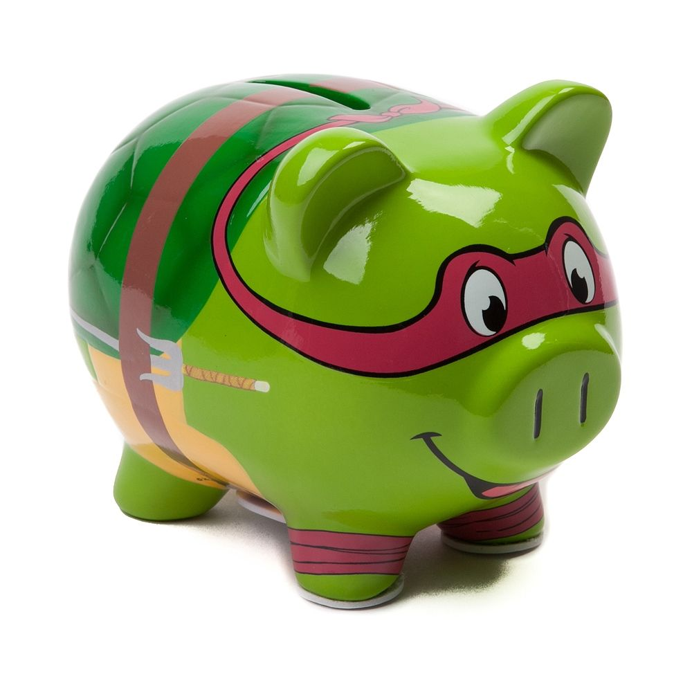Teenage Mutant Ninja Turtles Piggy Bank Ninja Turtle Stuff