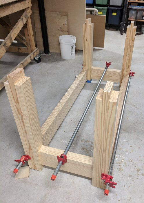 Woodworking woodworking bench