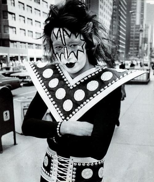 Ace Frehley 1974 Ace Frehley Vintage Kiss Kiss Rock Bands