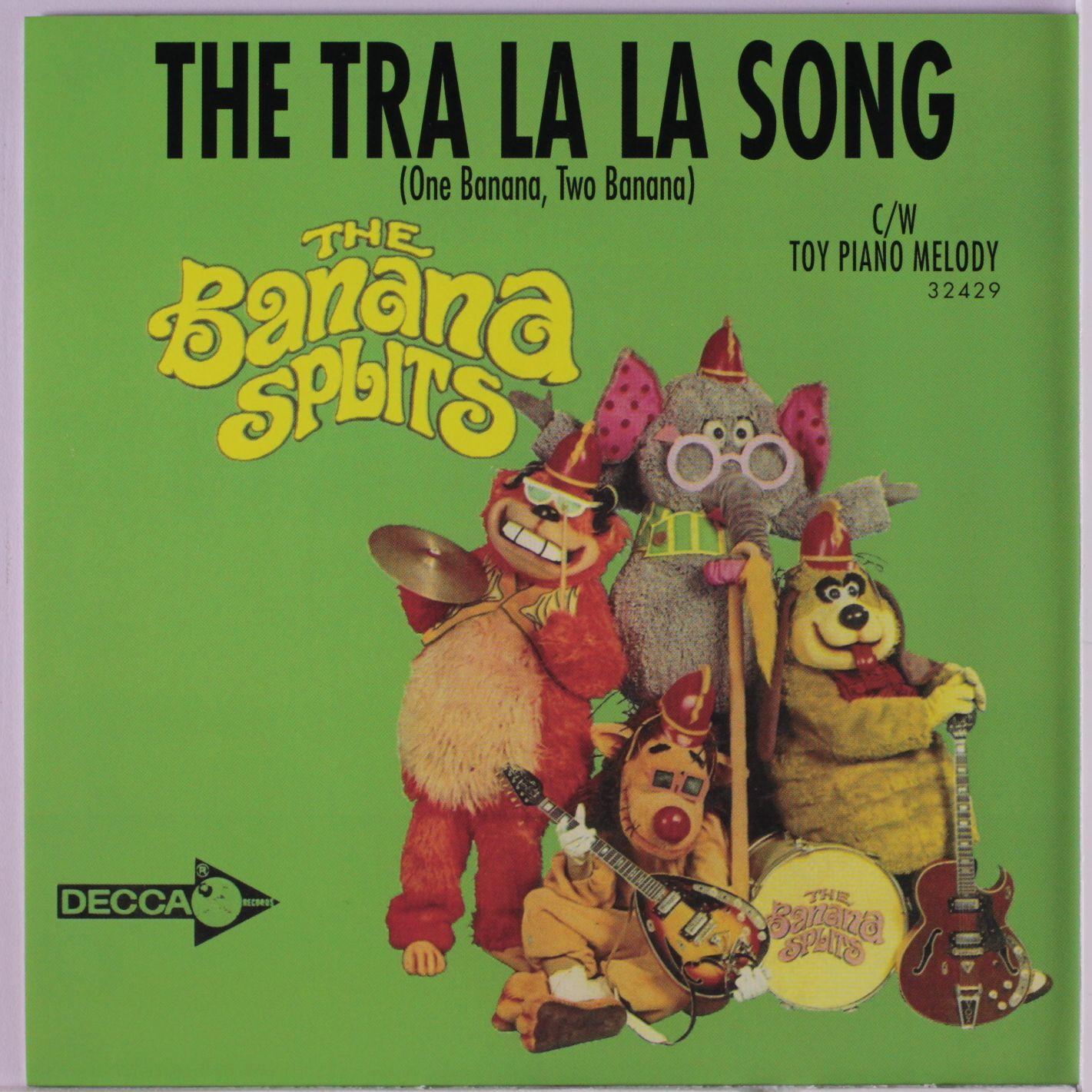 The Banana Splits Theme Song Banana Splits The Tra La La Song