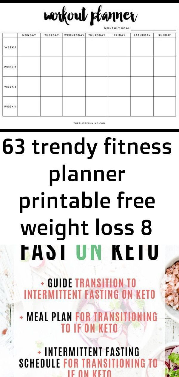 #Fitness #Free #Loss #planner #PRINTABLE #trendy #Weight 63 trendy fitness planner printable free we...