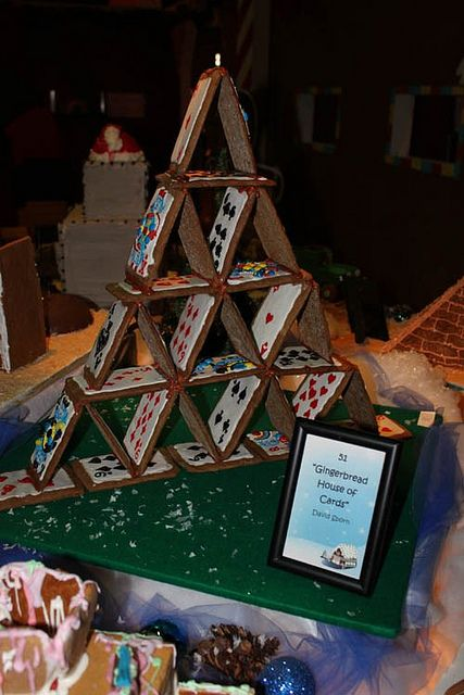 Gingerbread House Of Cards