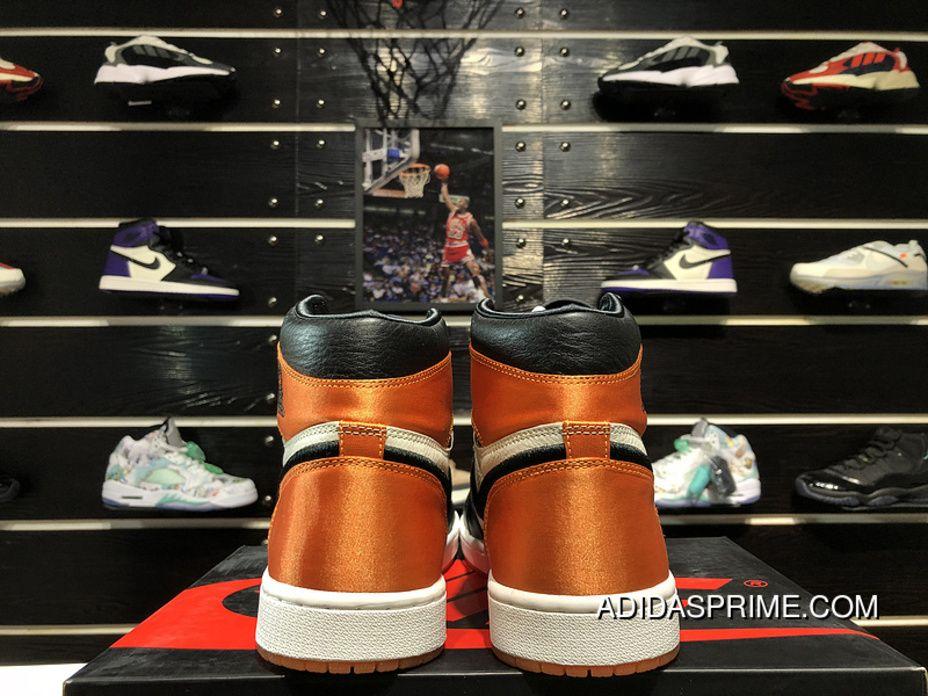 340849a5246 Air Jordan 1 Satin Shattered Backboard Black Buckle Broken Silk AV3725-010  Size Top Deals