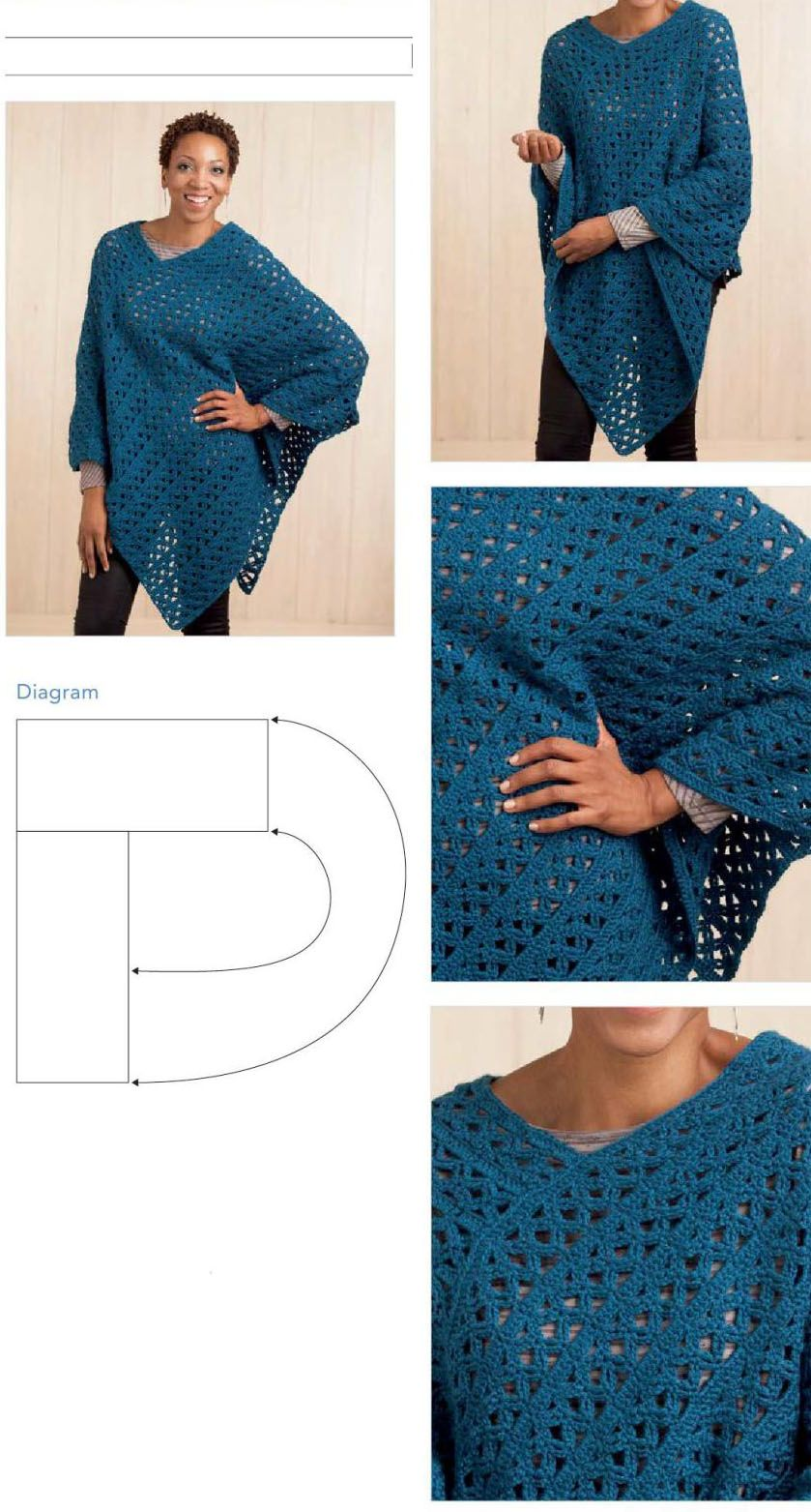 Diagram | Crochet | Pinterest