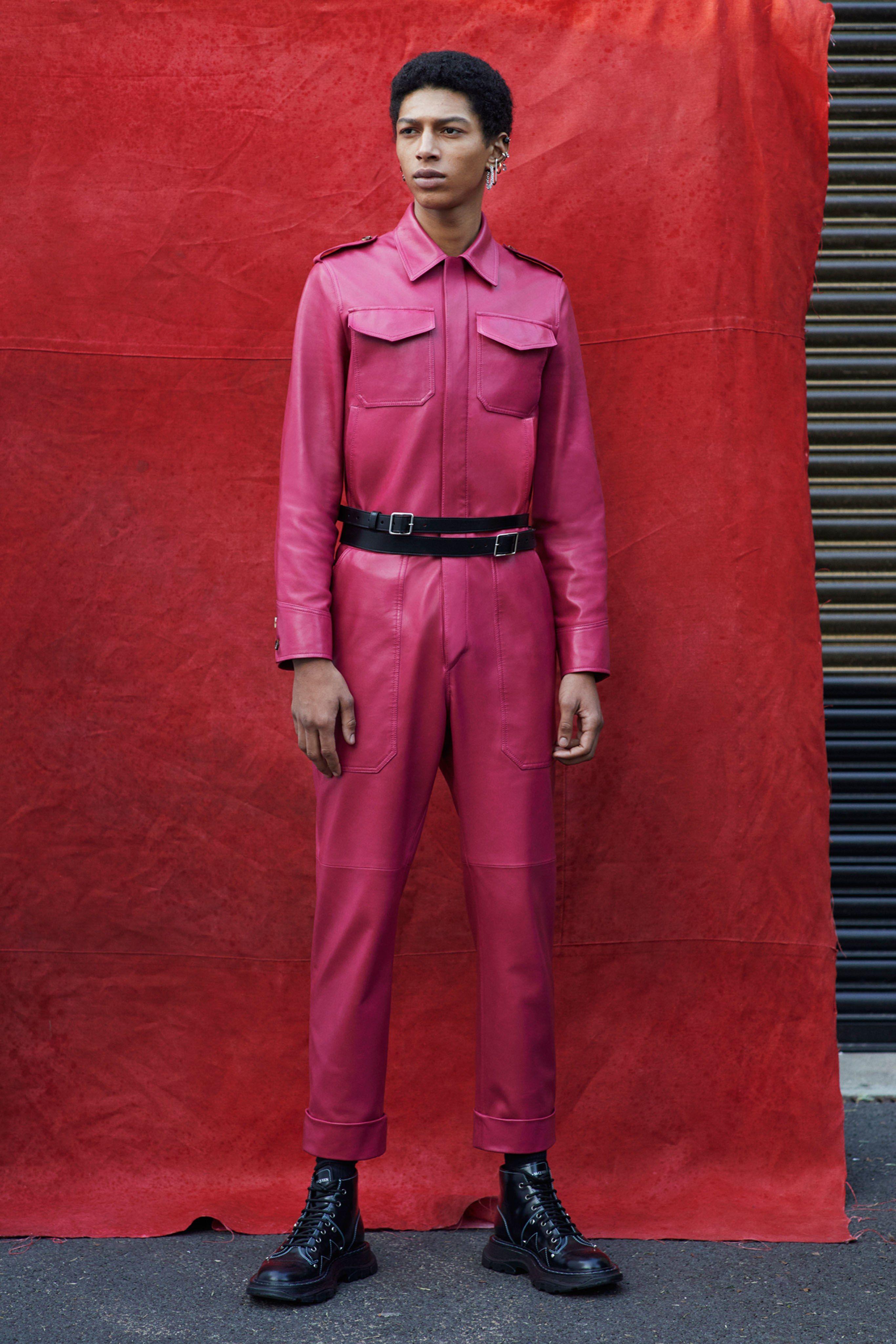 Alexander McQueen Fall 2019 Menswear Fashion Show London