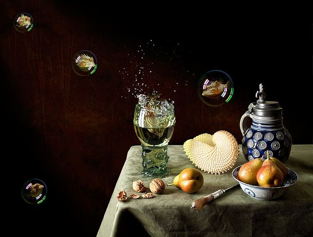 Still Life with Pears and Soused Cowfish.