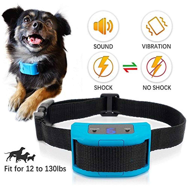 Dog Bark Collar No Barking Shock Collar For Small Medium Large