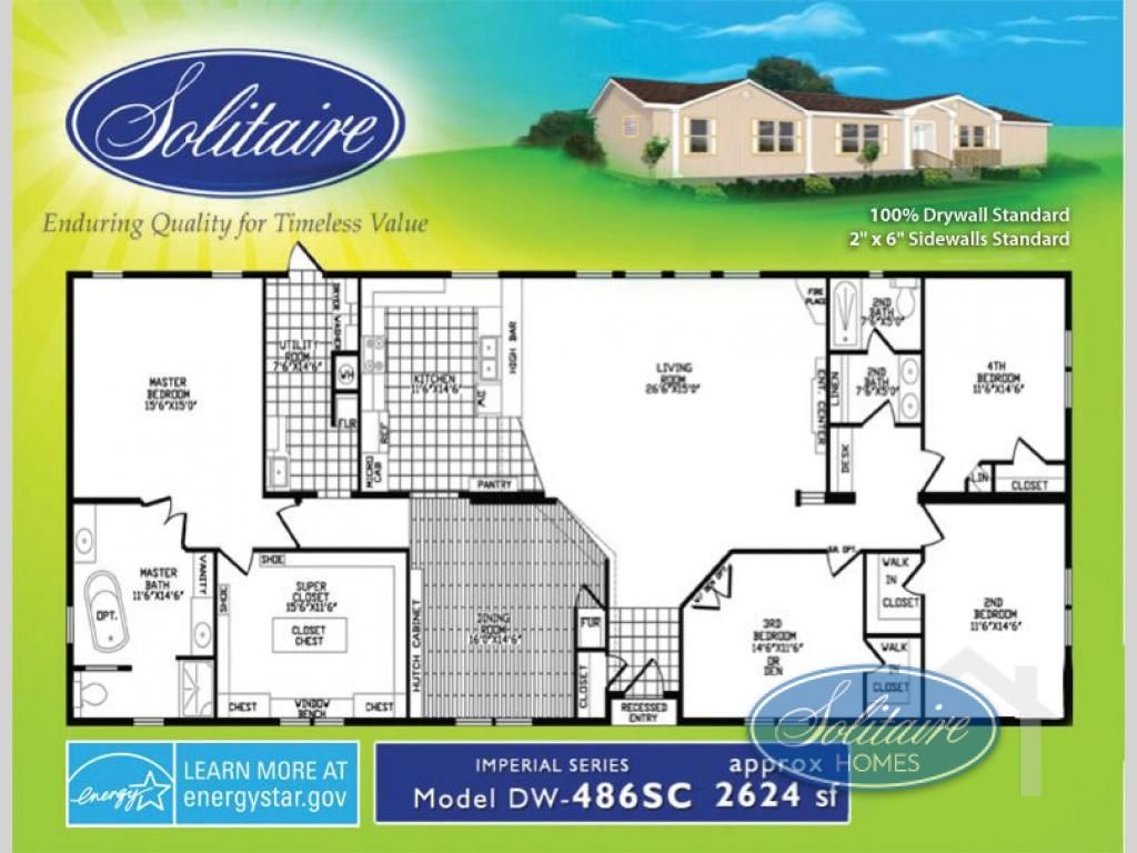 New 2016 Solitaire 486sc Double Section Home At Homes Oklahoma City Ok 5994nfb