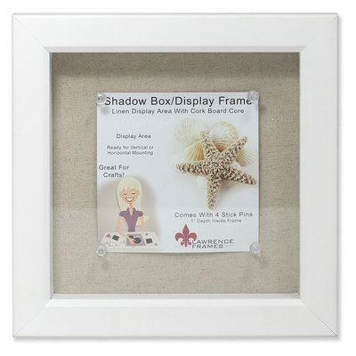 Highland Dunes McCloud Linen Inner Display Board Shadow Box Picture ...