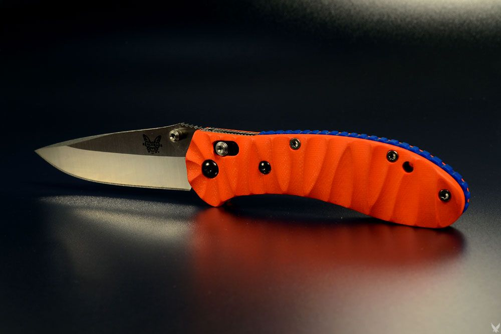 Custom Benchmade Griptilian done by Custom Scale Devision