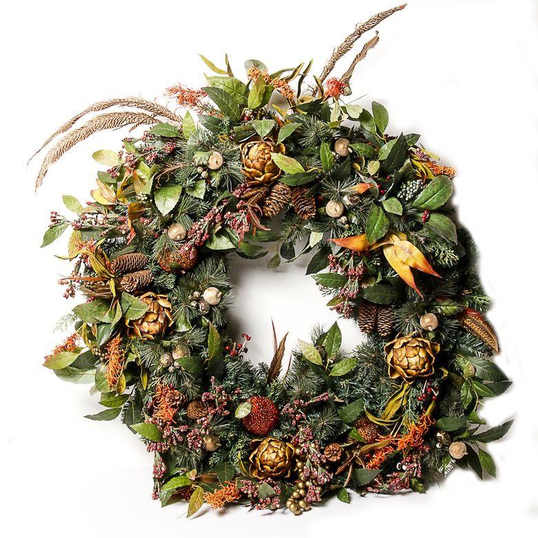 Oversized Decorative Wreath Wreath Decor Fall Decor Decor