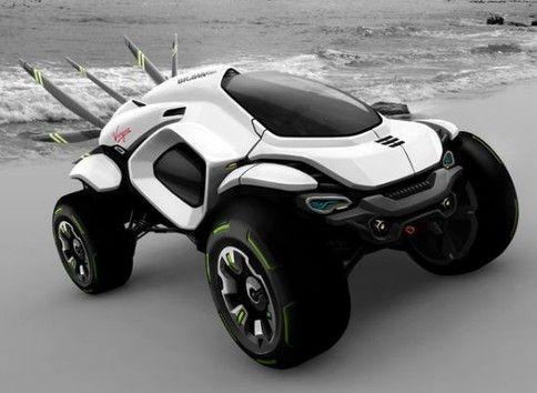 Concept Car Hussar Dakar Rally Vehicle Concept Klaud Wasiak