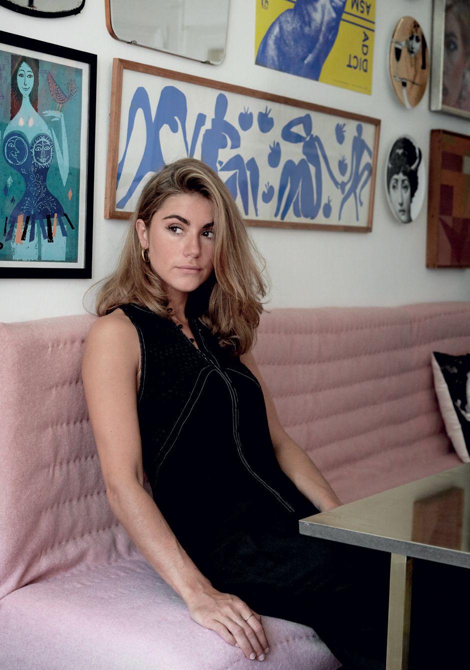 Photo of Den 22 år gamle designeren Cecilie Jørgensen, som står bak merkevaren & # 39; Cecilie Copenh …