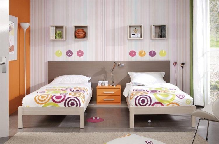 camas individuales sencillas muebles