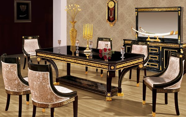 Dining Room Set In Empire Style