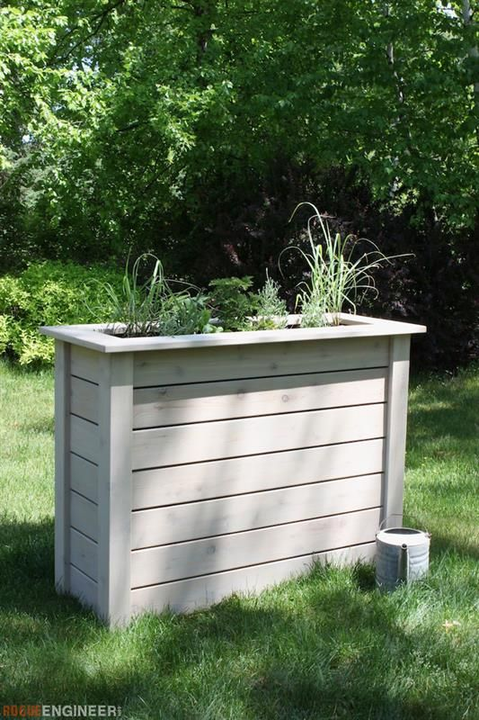 This privacy planter was designed to look good and hold for Tall planters for privacy