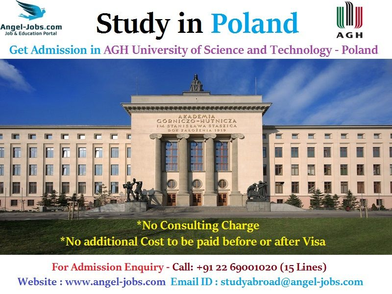 StudyAbroad StudyinPoland Admission in AGH University