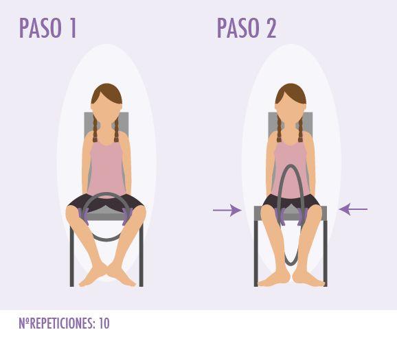 Ejercicio De Pilates Con Aro