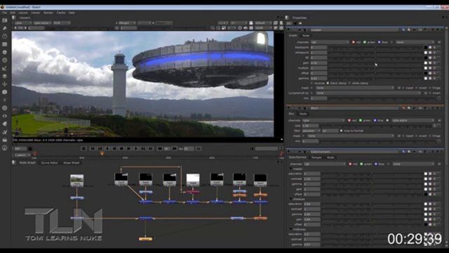 Tom Learns Nuke 1 First Basic Comp Visual Basic Tutorials Environment Painting Zbrush Tutorial