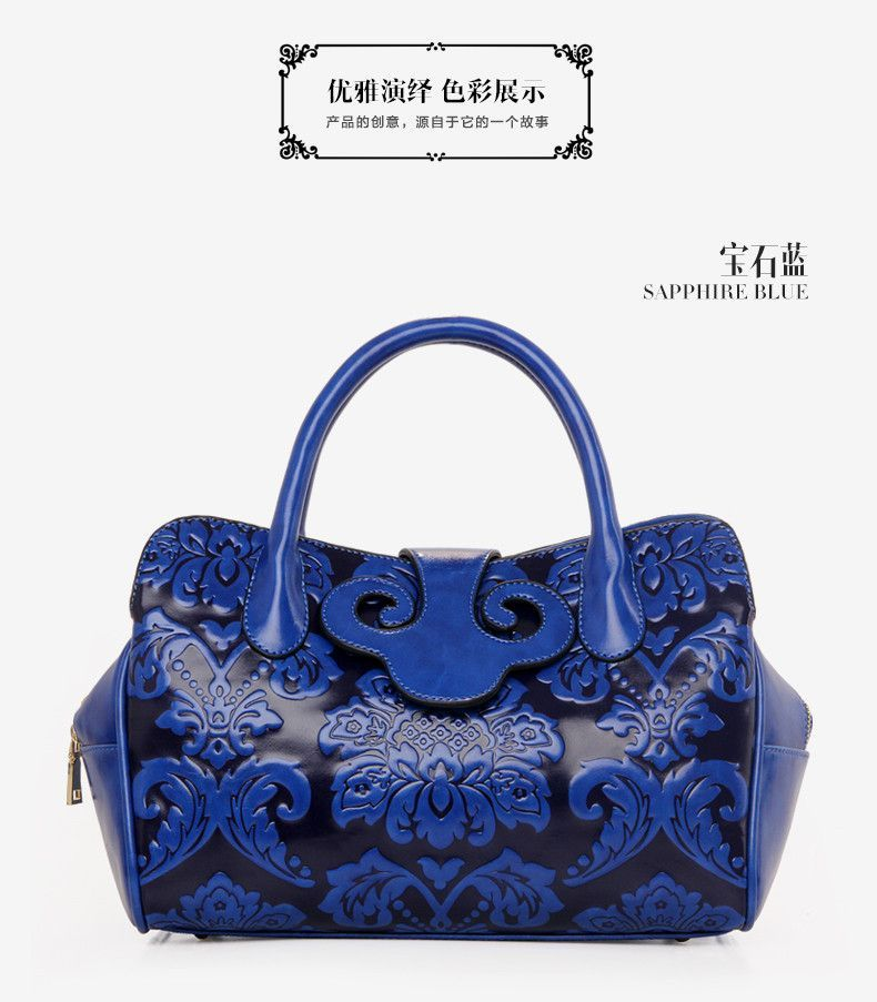 New 2015 Pu Leather Handbag Chinese Bride Wedding Packages In Red Bag Dumpling Package Printing Saddle Women Shoulder Bags