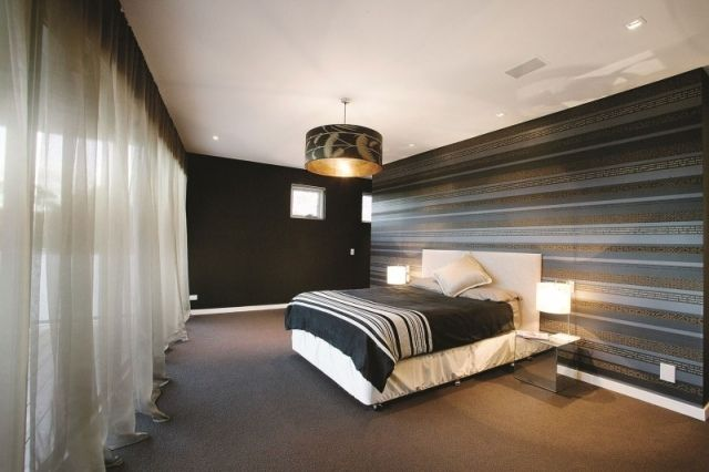goldene tapete modern design | möbelideen - Tapeten Design Ideen Schlafzimmer
