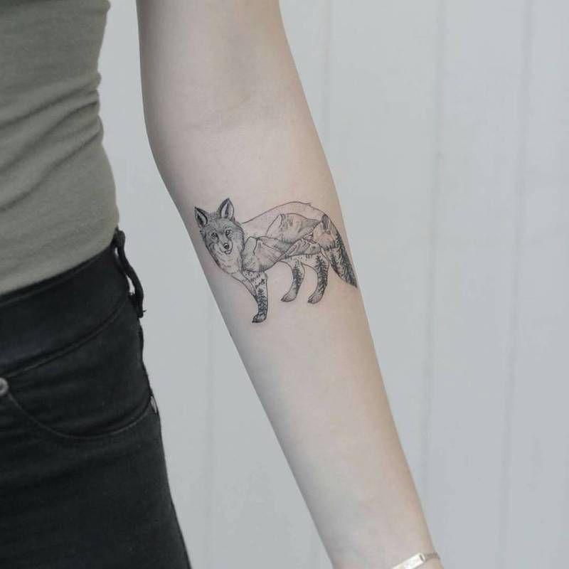 The Best Fox Tattoos Fox Tattoo Tattoos Fox Tattoo Design